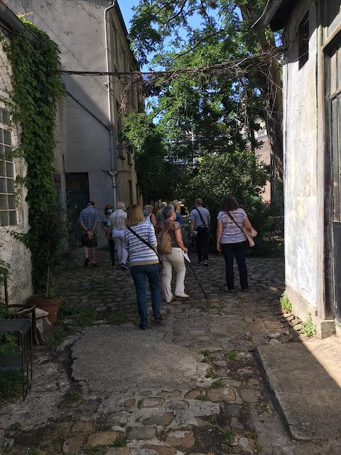 Visite guidée cour du quartier Popincourt Oberkampf