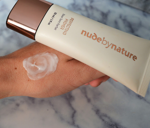 Nude By Nature|Perfecting Primer Swatch