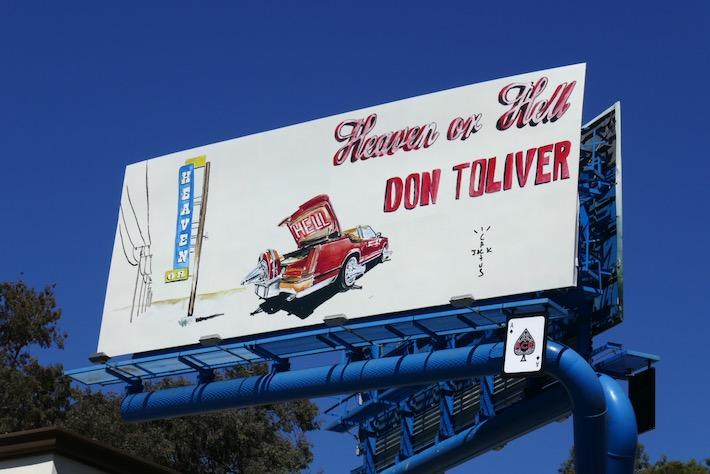 Don Toliver Heaven or Hell billboard