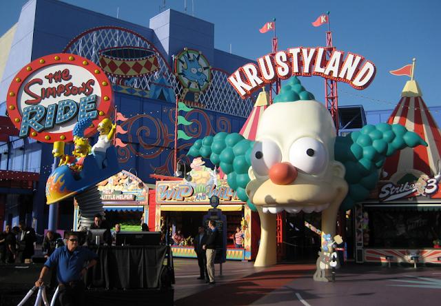 Área Springfield dos Simpsons em Orlando