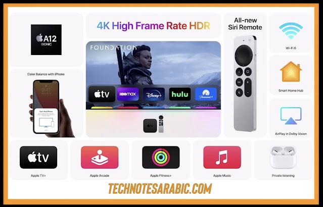 Apple TV 4K specifications