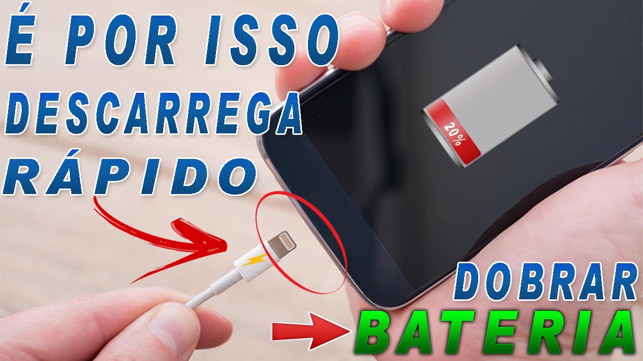 celular com bateria descarregada