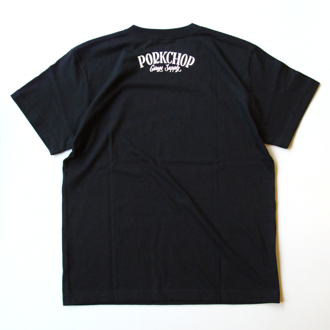 "PORKCHOP GARAGE SUPPLY ""PORK FRONT TEE"" Price:4,320yen"