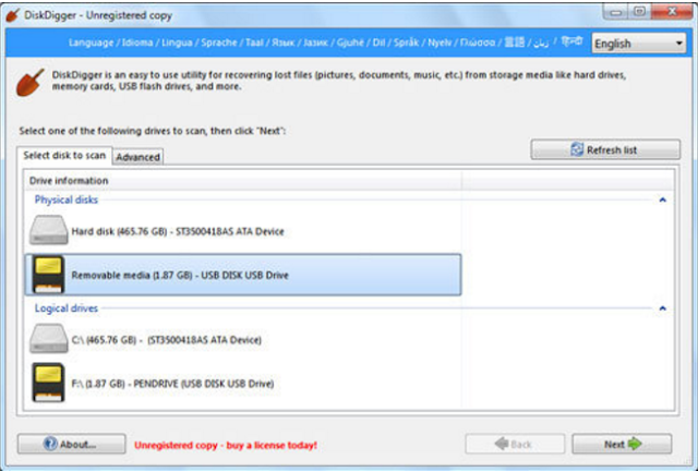 Cara Recovery File yang Dihapus 3
