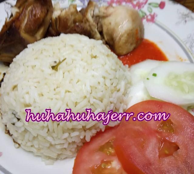 Resepi Nasi Ayam Yang Biasa Tapi Rasa Luar Biasa, Bagi Tekak Aku lah.. Hehh!