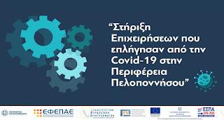 Επιμελητήριο Αργολίδας: Παράταση και 3η τροποποίηση της δράσης Ενίσχυση Μικρών και πολύ Μικρών Επιχειρήσεων που επλήγησαν από την Covid-19