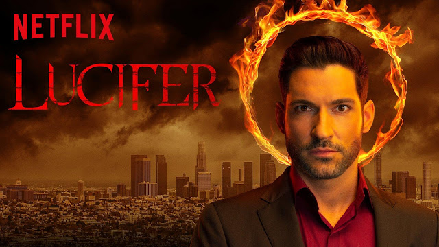 Lucifer - an awesome series on Netflix