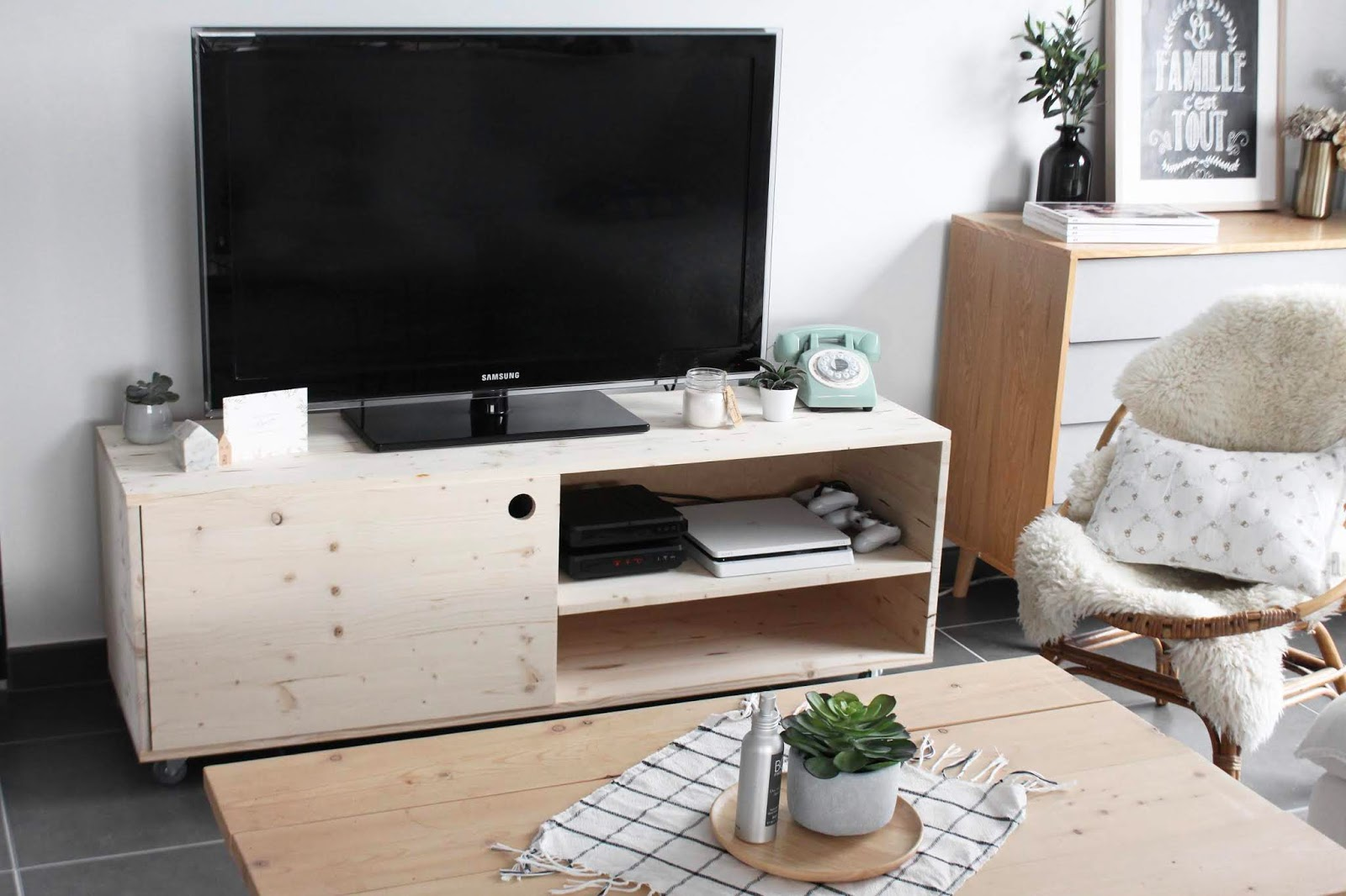 diy meuble tv