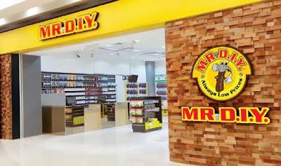 Saat ini MR.D.I.Y. FS akan membuka toko di Pati dan membutuhkan tenaga kerja sebagai berikut