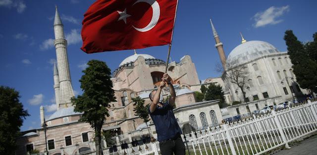 Αγία Σοφία: Η Τουρκία ξεκίνησε προετοιμασίες για το άνοιγμα ως τζαμί