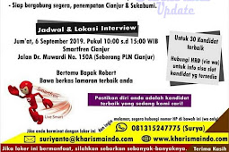 Walk-in Interview Smartfren (Sukabumi & Cianjur)