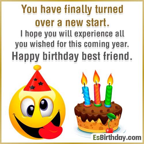 Birthday Wish Amazing Best Friend