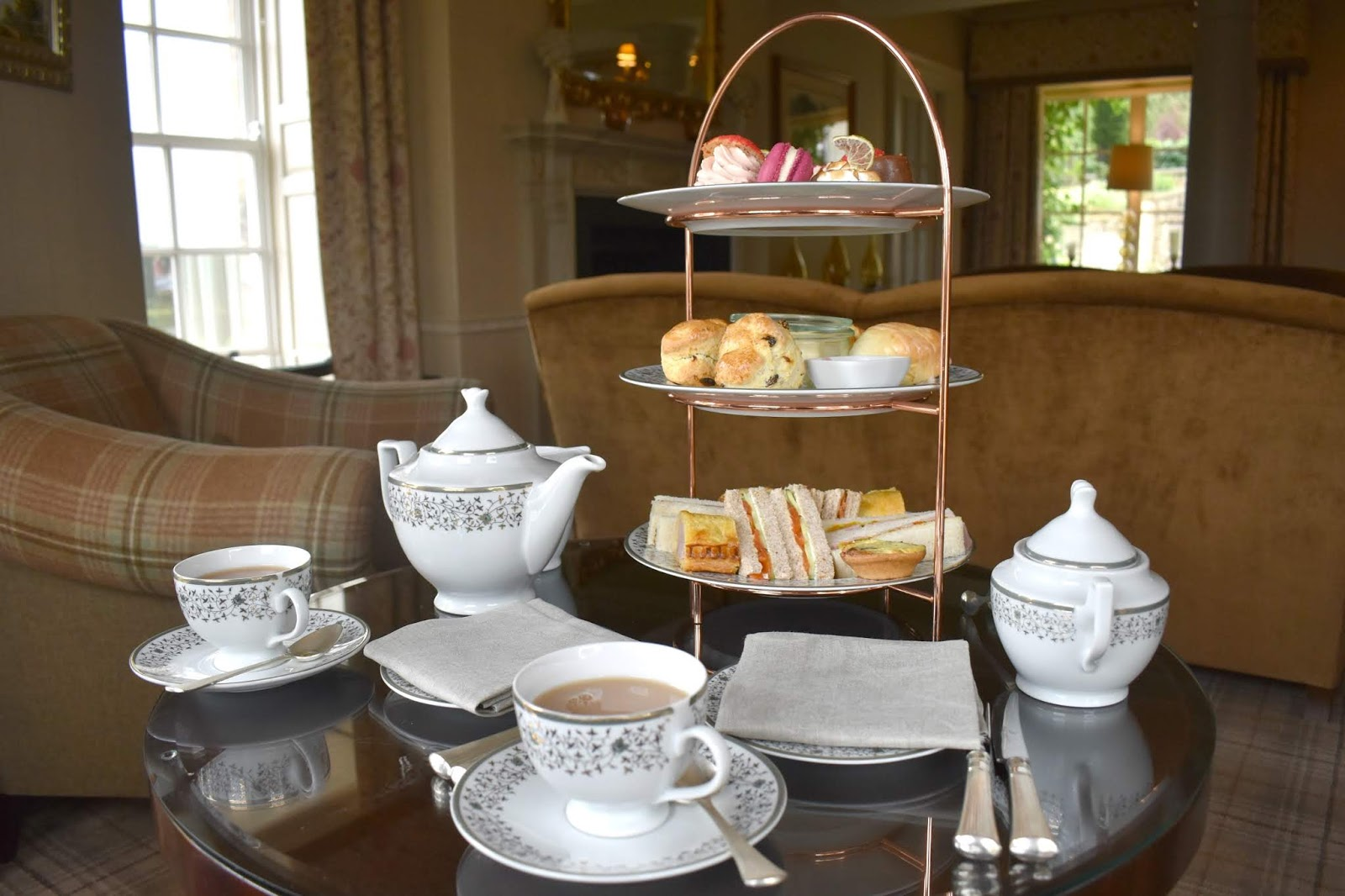 The Best Afternoon Tea in Northumberland at Walwick Hall Hotel