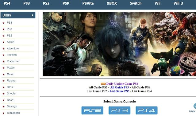 مواقع تحميل العاب بلاستيشن 2 و 3 و 4 PlayStation مجانا العاب جديدة كاملة
