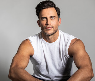 Picture of Monte's ex-spouse Cheyenne Jackson