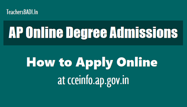 ap online degree admissions 2019,how to apply online at cceinfo.ap.gov.in,ap online degree admissions online application form,ap degree provisional admission list,ap online degree admissions selection list