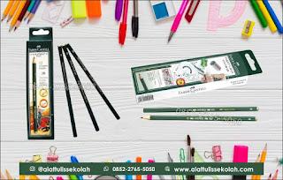 harga pensil faber castell 2b, 0852-2765-5050