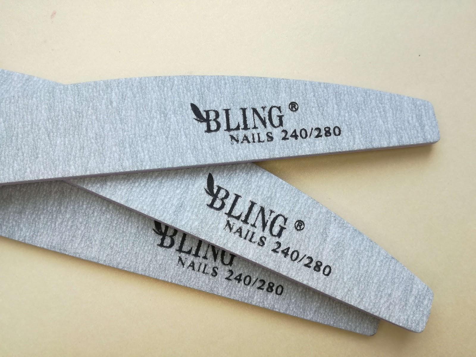 papierowe pilniki do paznokci