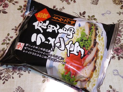 【ヒガシフーズ】即席 鹿児島ラーメン亭とんこつ味