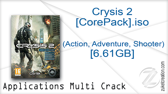 Crysis 2 [CorePack].iso (Action, Adventure, Shooter) [6.61GB]