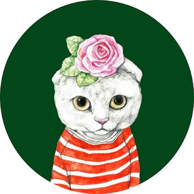 افتار رسومات قطة لتحميل لحسابك على مواقع التوصل