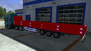 Red Long Trailer by uMuT1595