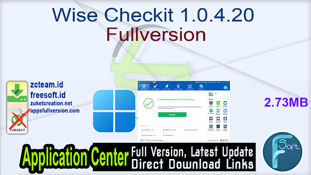 Wise Checkit 1.0.4.20 Fullversion