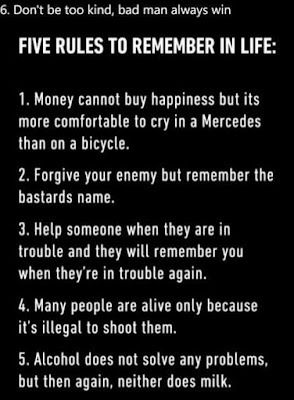 Five rules to remember in life #jokes, #joke