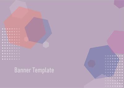poligonal-banner-template-young-purple