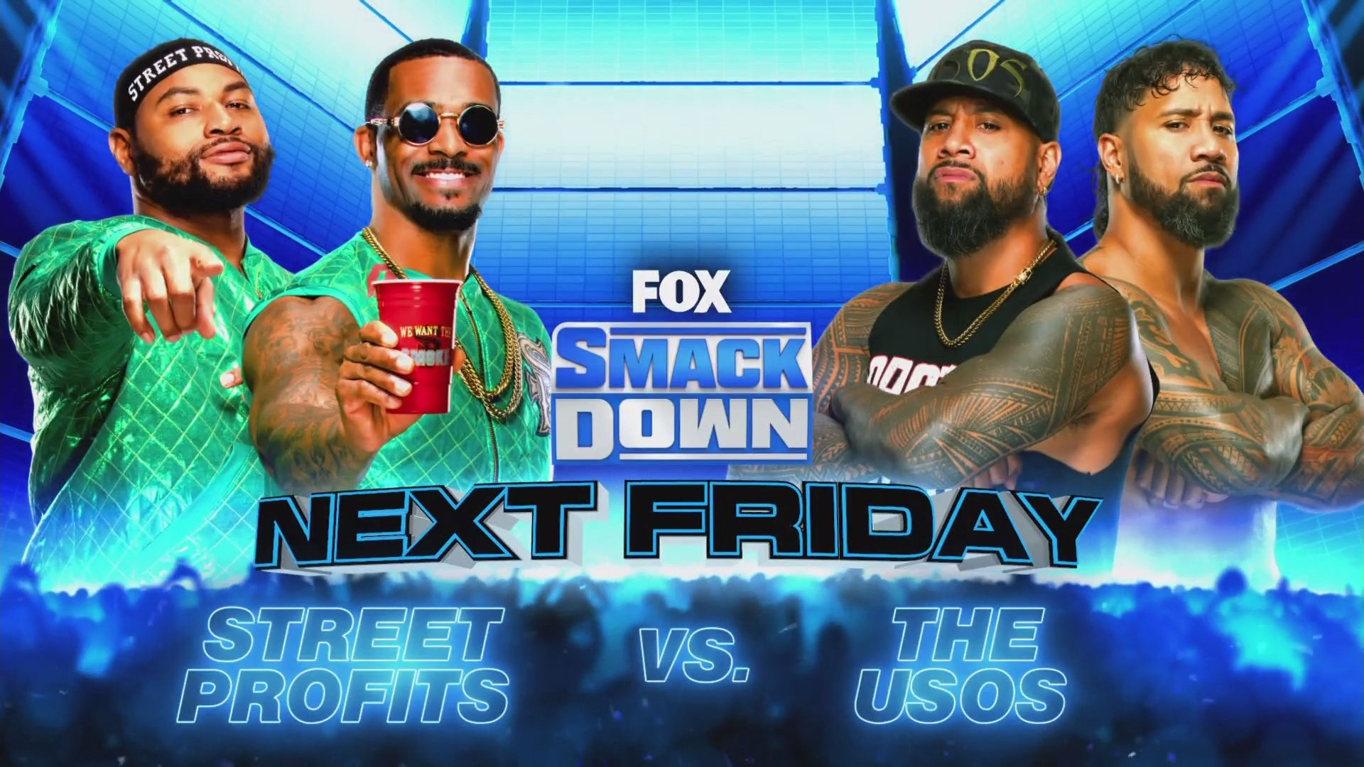 Grande combate de duplas é anunciado para o próximo Friday Night SmackDown