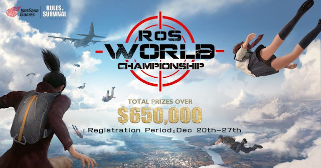 Sistem poin penilaian World Championship Rules Of Survival