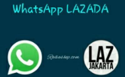 Nomor WhatsApp Lazada