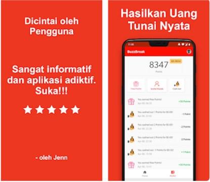 Aplikasi Baca Artikel Dapat Uang