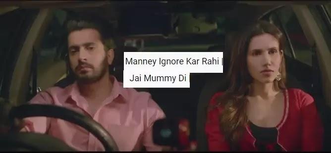Manney Ignore Kar Rahi Lyrics in Hindi | Jai Mummy Di