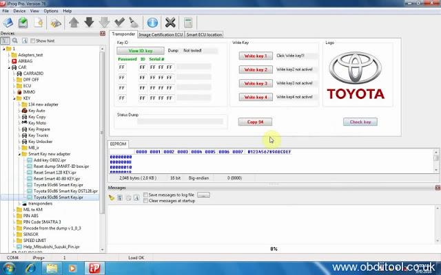 obdiitool blogg se - Iprog+ V76 IMMO feedback: Toyota