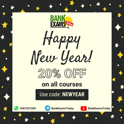 New Year Offer on BankExamsToday