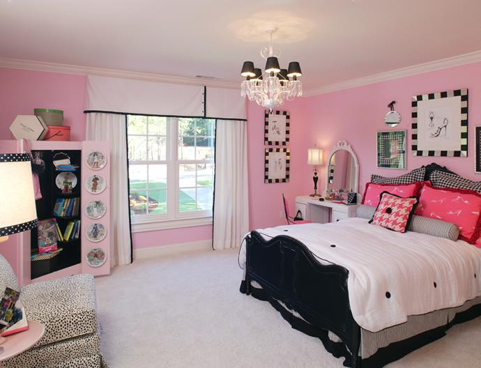 Color your world ideal colors for teen s bedroom - Bedroom colors for teenage girl ...