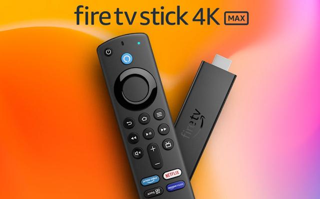 أطلقت أمازون Fire TV Stick 4K Max بمعالج أسرع و Wi-Fi 6