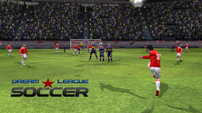 Dream League Soccer 1.57 MOD APK+DATA (Unlimited Gold Coins)