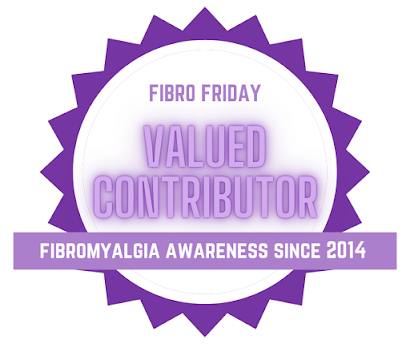 Fibro friday valued contributor badge