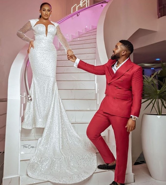 "''I heard a voice saying you're my husband"" - Williams Uchemba's wife narrates how she sent him a message on Facebook after watching his video"