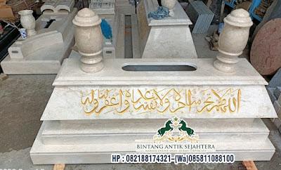 Bokoran Tumpuk Marmer, Kijing Makam Kuburan