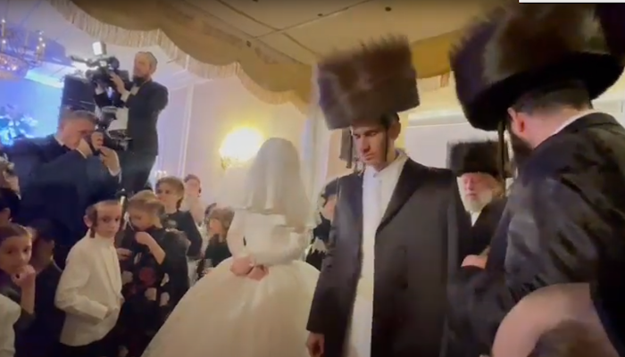 "Wedding of the son of Menachem Shtark A""H"