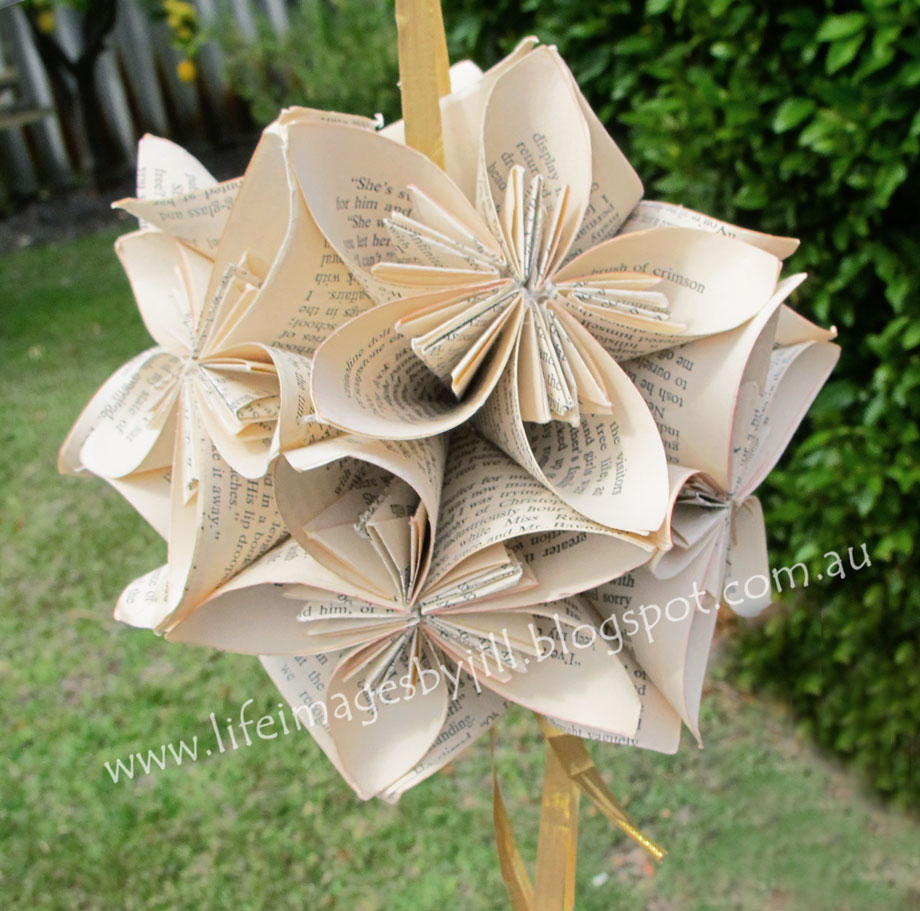 Life Images By Jill How To Make A Kusudama Flower Ball