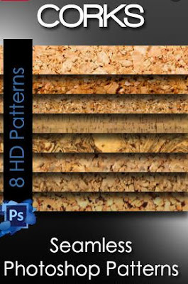 Cork Seamless Photoshop Patterns