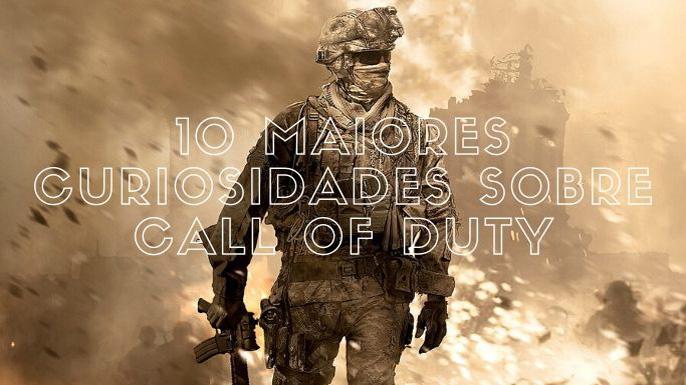 10 Maiores Curiosidades sobre Call of Duty