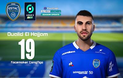 PES 2021 Faces Oualid El Hajjam by CongNgo