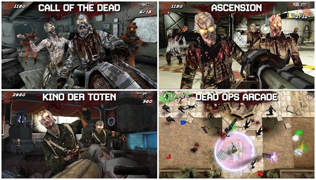 Call of Duty Black Ops Zombies Mod v1.0.8 Apk+Data Unlimited Money