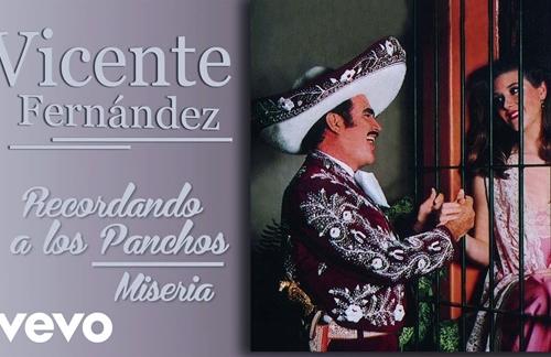 Miseria   Vicente Fernandez Lyrics