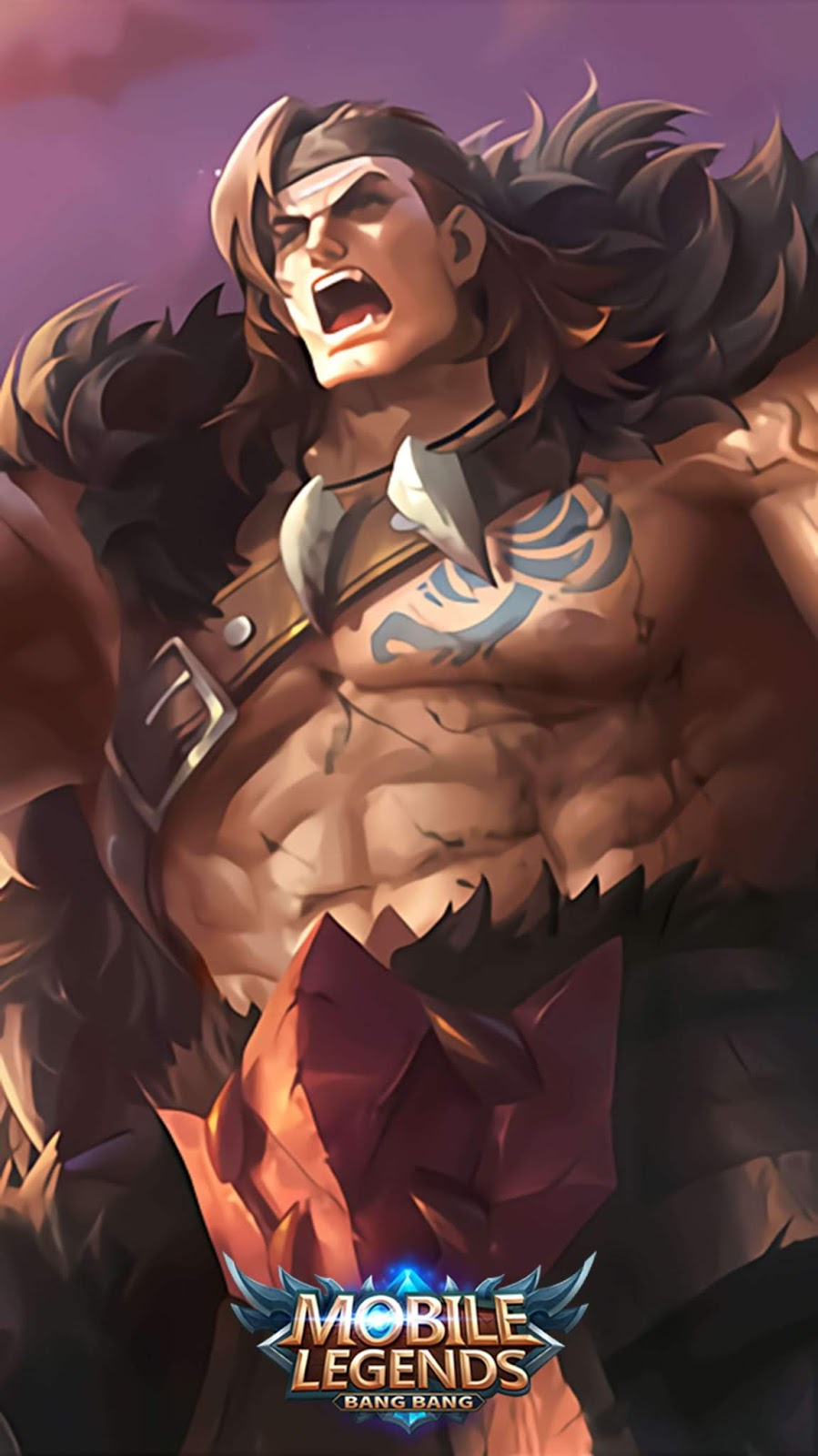 Wallpaper Tigreal Wyrmslayer Skin Mobile Legends HD for Mobile
